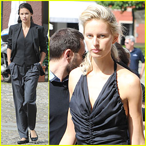 Adriana Lima & Karolina Kurkova's Beauty is Put on Display For IWC Photo Shoot!
