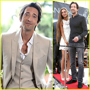 Adrien Brody Flaunts Chest Hair at 'Emperor' Cannes Photo Call!