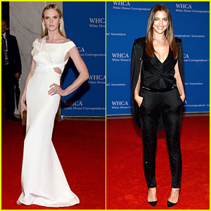 Anne V & Irina Shayk Are Alluring Models at White House Correspondents' Dinner 2014!