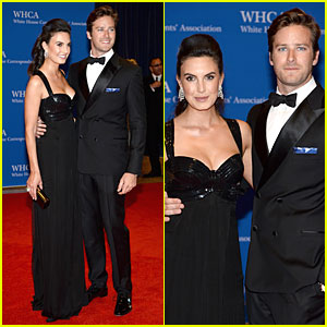 Armie Hammer & Elizabeth Chambers Are the Perfect Pair at White House Correspondents' Dinner 2014