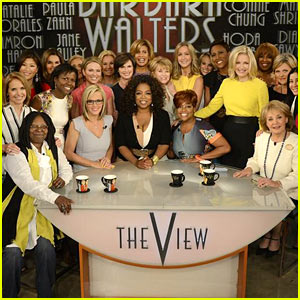 Barbara Walters Receives Jam-Packed Send Off From 'The View' - See Who Showed Up!
