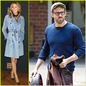 Blake Lively Promotes Gucci's Chime for Change, Ryan Reynolds Rides His Motorcycle!
