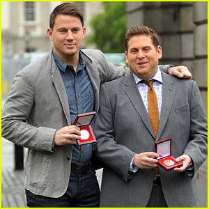Channing Tatum & Jonah Hill Win Bram Stoker Gold Medals at Trinity College Dublin!