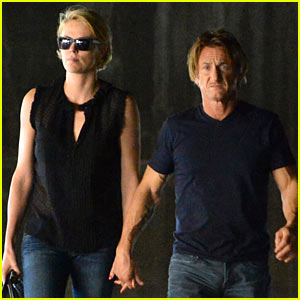 Charlize Theron & Sean Penn Get Affectionate, Hold Hands in L.A.