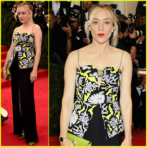 Chloe Sevigny Rocks a Kenzo Creation at Met Ball 2014
