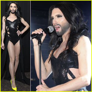 Conchita Wurst Shoots Down Lady Gaga Tour Rumors!