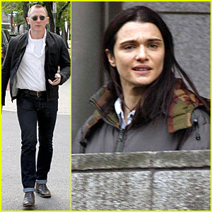 Daniel Craig Goes Motorcycle Shopping, Rachel Weisz Films 'Lobster'!