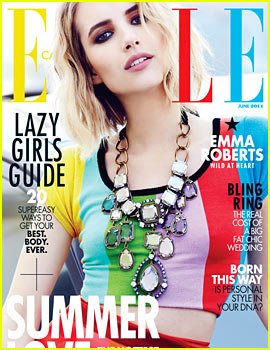 Emma Roberts to 'Elle Canda': 'It's Hard to Find Authentic People to Keep In Your Life'