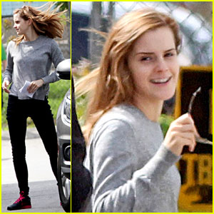 Emma Watson Gets Back to Work After College Graduation!