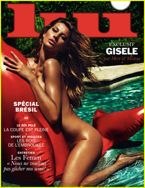 Gisele Bundchen Goes Completely Nude in the Pool For 'Liu'!