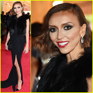 Giuliana Rancic is Woman in Black on Met Ball 2014 Red Carpet
