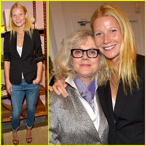Gwyneth Paltrow's Mom Blythe Danner is By Her Side at Goop Pop-Up Shop Party