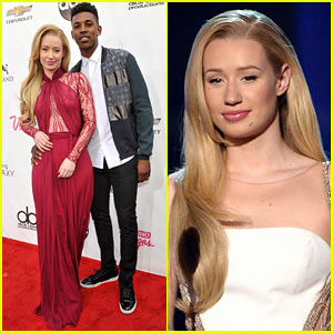 Iggy Azalea Brings Her Beau Nick Young to Billboard Music Awards 2014!