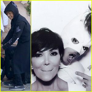 Jaden Smith Photobombed Guests as 'White Batman' at Kim Kardashian & Kanye West's Wedding!