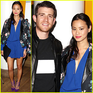 Jamie Chung Supports Fiance Bryan Greenberg at 'Short History of Decay' Premiere!