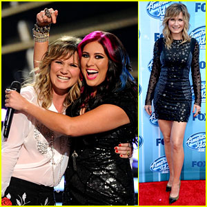Jennifer Nettles Performs with Jessica Meuse on 'American Idol' Finale! (Video)