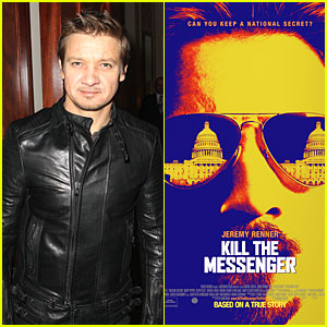 Jeremy Renner Has Eyes on White House in 'Kill the Messenger' Poster!