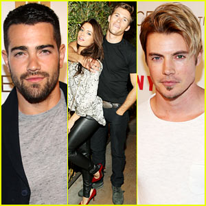 Jesse Metcalfe & Scott Eastwood Bring the Heat at Nylon's Young Hollywood Party