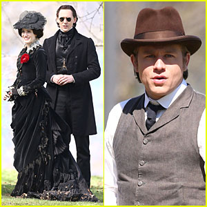 Jessica Chastain & Tom Hiddleston Keep It Dark on 'Crimson Peak'!