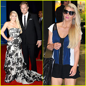 Jessica Simpson Brings Fiance Eric Johnson to White House Correspondents' Dinner 2014