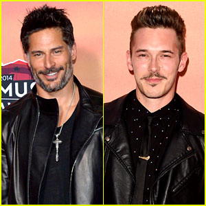 Joe Manganiello & Sam Palladio - iHeartRadio Music Awards 2014