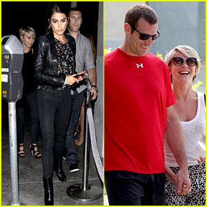 Julianne Hough Double Dates with Brother Derek & Nikki Reed!
