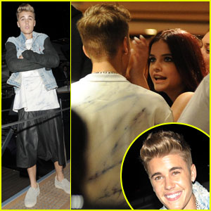 Justin Bieber Parties with Rumored Ex-Girlfriend Barbara Palvin!