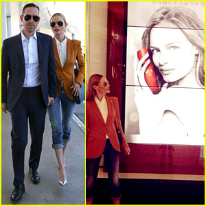 Kate Bosworth Has a Surreal Moment at the Airport
