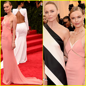 Kate Bosworth Meets Up with Stella McCartney's Other Attendees at Met Ball 2014