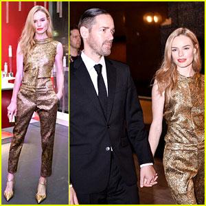 Kate Bosworth Shimmers in Singapore at Oscar de la Renta Fashion Show