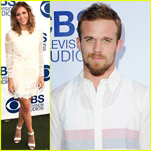 Cam Gigandet & Katharine McPhee Celebrate New Shows at CBS Summer Soiree!