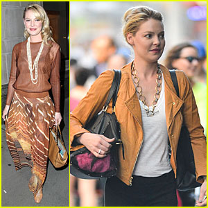 Katherine Heigl Gets Sheerly Noticed in New York City!