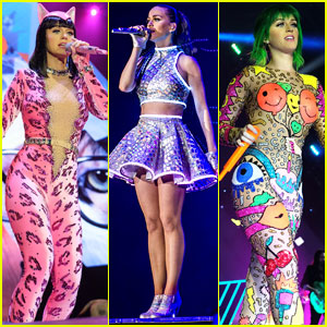 Katy Perry Keeps Us Guessing with Color for 'Prismatic Tour'!