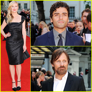 Kirsten Dunst Goes Classic Chic in LBD at 'Two Faces of January' UK Premiere