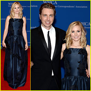 Kristen Bell & Dax Shepard Dress to Impress at White House Correspondents' Dinner 2014