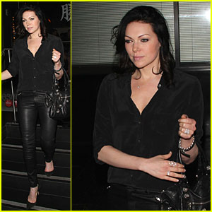 Laura Prepon Looks So Fierce & Ready For 'Orange is the New Black' Season 2!
