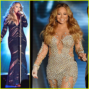 Mariah Carey is a Sexy Pop Icon at World Music Awards 2014