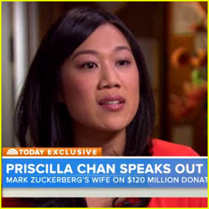 Mark Zuckerberg's Wife Priscilla Chan Gives First TV Interview, Announces Big Donation to Bay Area Schools