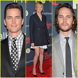 Matt Bomer & Julia Roberts Bring a 'Normal Heart' to New York City!