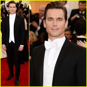 Matt Bomer is as Handsome as Ever at Met Ball 2014!