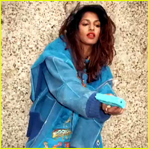 M.I.A. Releases Trippy Music Video for 'Double Bubble Trouble'!