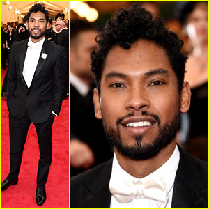 Miguel Proclaims He Is a 'Troublemaker' at Met Ball 2014