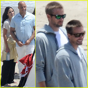 Paul Walker's Brothers Hang with 'Fast & Furious 7' Cast On Set