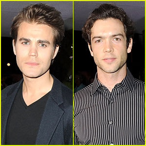 Paul Wesley & Ethan Peck Rev Up the Engines with Jaguar!