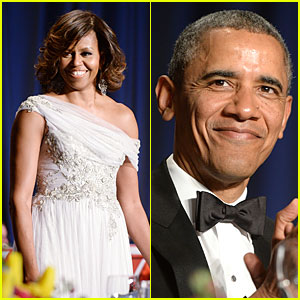 President Obama Shares Hilarious Jokes at White House Correspondents' Dinner 2014! (Video)