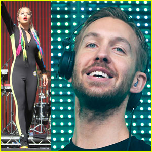 Rita Ora & Calvin Harris Hit the Stage at BBC Radio 1's Big Weekend!