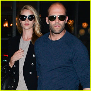 Rosie Huntington-Whiteley is Back Home with Her Man Jason Statham After Missing Him A Lot!