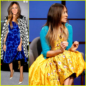 Sarah Jessica Parker & Anna Wintour Talk Met Ball on 'Late Night' - Watch Now!