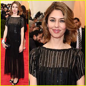 Director Sofia Coppola Stands In Front of the Camera at the Met Ball 2014