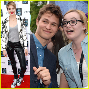 Shailene Woodley & Ansel Elgort: 'Fault In Our Stars' Nashville Fan Event!